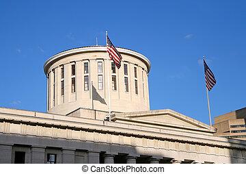El domo de Ohio Statehouse
