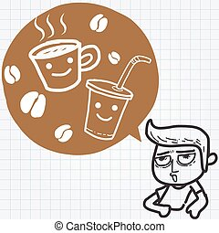 El dormilón y el café