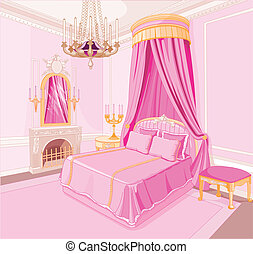 El dormitorio de la princesa