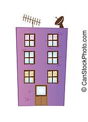 El edificio Cartoon