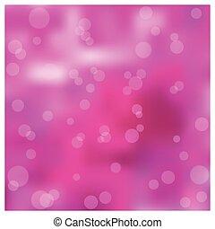El efecto bokeh de fondo borroso rosa