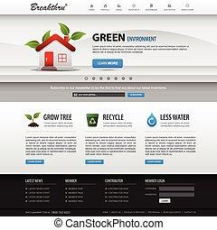El elemento web de diseño en Internet se templa