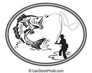 El emblema de la lubina