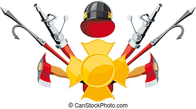 El emblema de la lucha contra el fuego