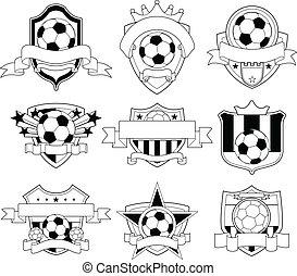 El emblema del fútbol