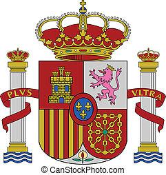 El escudo de armas de España