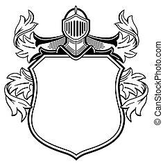El escudo de armas de Knight