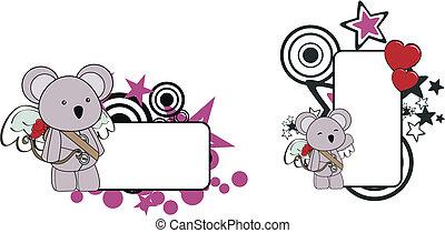 El espacio de dibujos animados de Koala