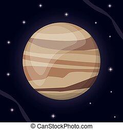 El espacio del sistema solar Venus
