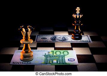 El euro supera el dólar