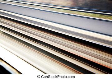 El ferrocarril rastrea los antecedentes