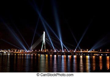 El festival de la luz Staro riga