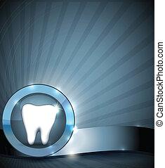El folleto de la salud de los dientes
