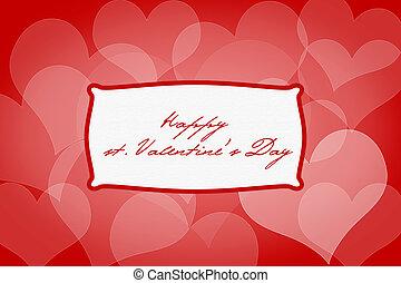 El fondo del día de San Valentín con corazones, texto de muestra