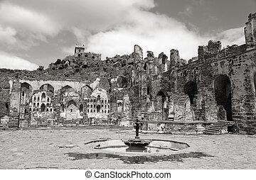 El fuerte histórico Golkonda