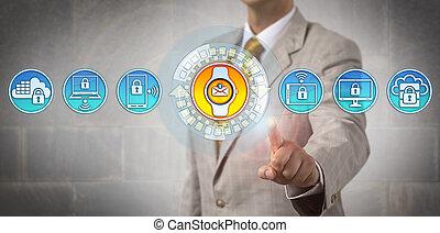 El gerente agrega tecnología útil a la computación