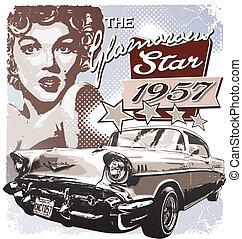 El glamuroso de América de 1957