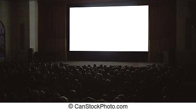 el gozar, cine, gente, película