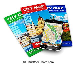 El GPS, el concepto de viaje y turismo