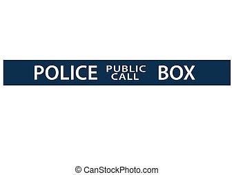 El gráfico de la cabina de policía