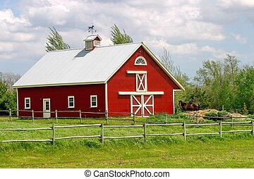 El granero rojo