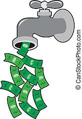 El grifo del dinero