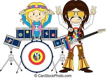 El guitarrista Hippie