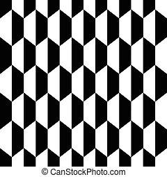 El hexágono blanco negro sin costura de fondo2