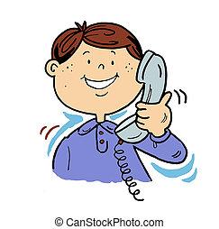 El hombre del teléfono