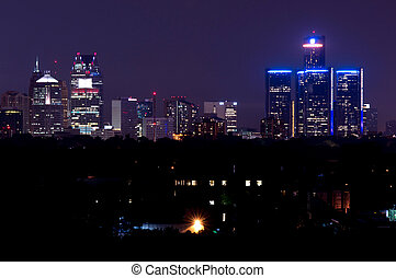 El horizonte de Detroit