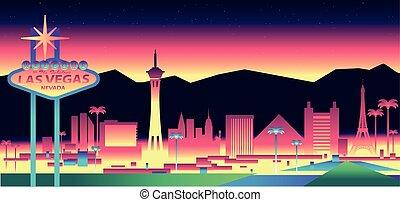 El horizonte de Las Vegas