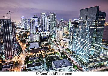 El horizonte de Miami