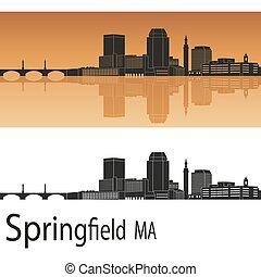 El horizonte de Springfield MA