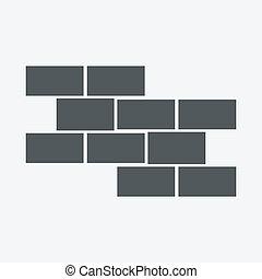 El icono de Brick Wall