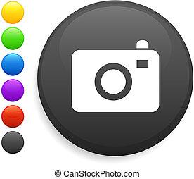 El icono de la cámara en el botón de Internet