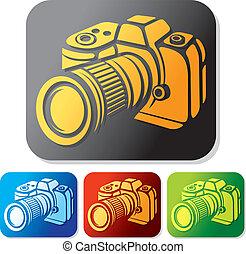 El icono de la cámara está listo