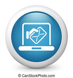 El icono de la computadora