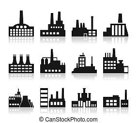 El icono de la fábrica