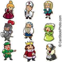 El icono de la gente medieval
