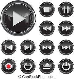 El icono de la Multimedia listo