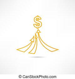 El icono de la riqueza