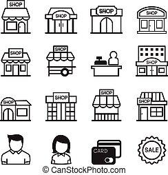 El icono de la tienda