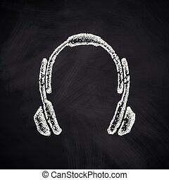 El icono de los auriculares