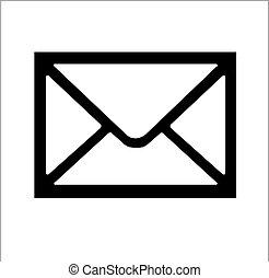 El icono de los sobres