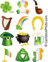 El icono de San Patrick