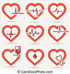 El icono del corazón