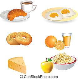 El icono del desayuno está listo