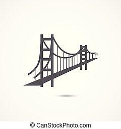 El icono del puente Golden Gate