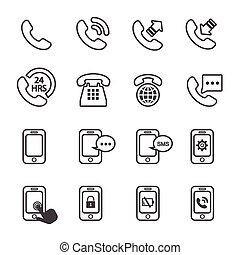 El icono del teléfono