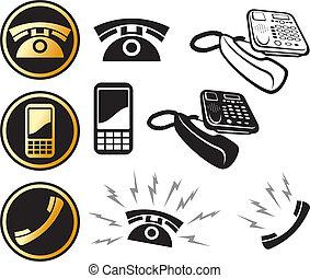 El icono del teléfono está listo